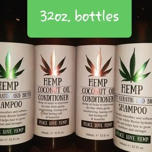 Hemp Shampoo or Conditioner each or sets